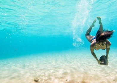 Free diver Kimi Werner on finding peace underwater - Freediving in United Arab Emirates. Courses, Certificates and Equipment