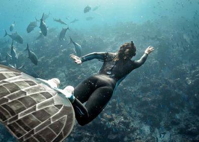 Freediving brings peace, adventure - Freediving UAE