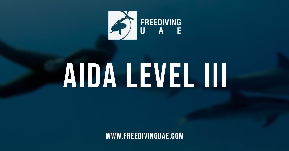 AIDA Level III Freediving Foundation Course – Dubai - Freediving in United Arab Emirates. Courses, Certificates and Equipment