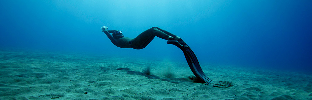Freediving in Dubai