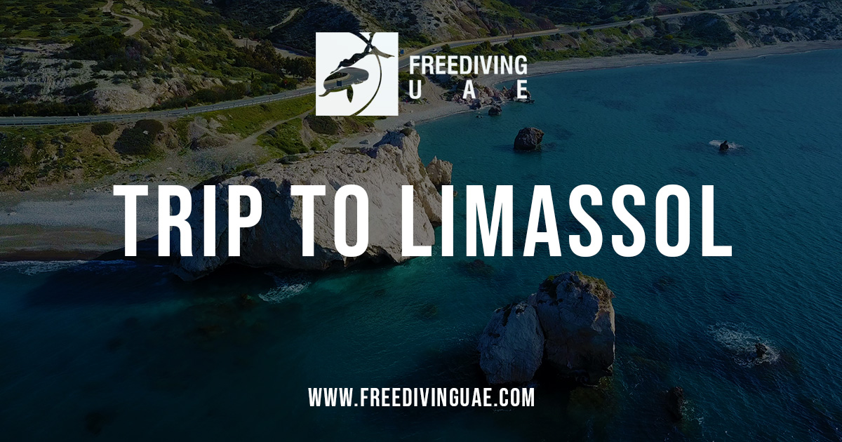 Freediving tour to Limassol, Cyprus - Freediving in United Arab Emirates. Courses, Certificates and Equipment