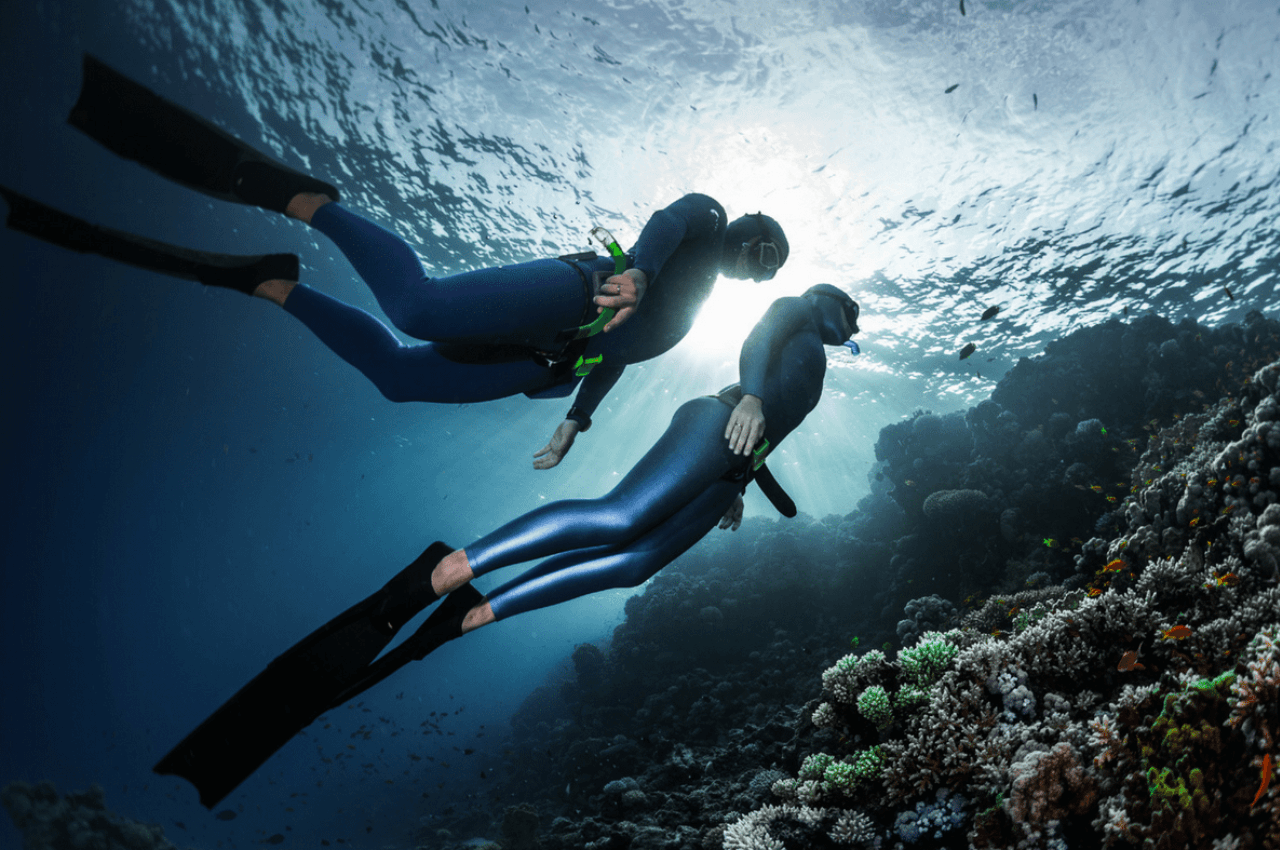 What are the benefits of freediving? - Freediving in United Arab Emirates. Courses, Certificates and Equipment