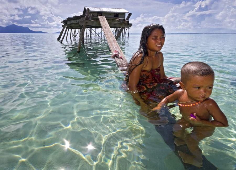Bajau — people living on the surface of the sea
