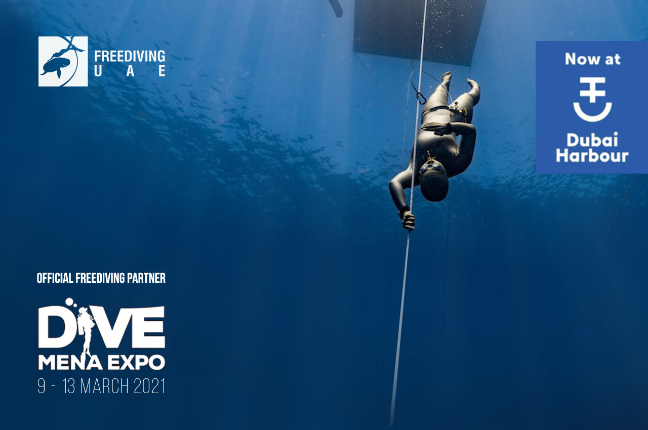 Dubai International Boat Show & Dive Mena Expo 2021 - Freediving in United Arab Emirates. Courses, Certificates and Equipment