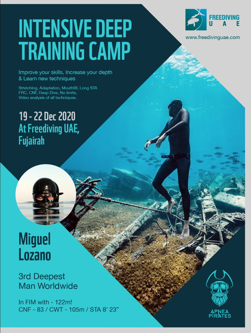 Intensive Deep Training Camp With MIGUEL LOZANO