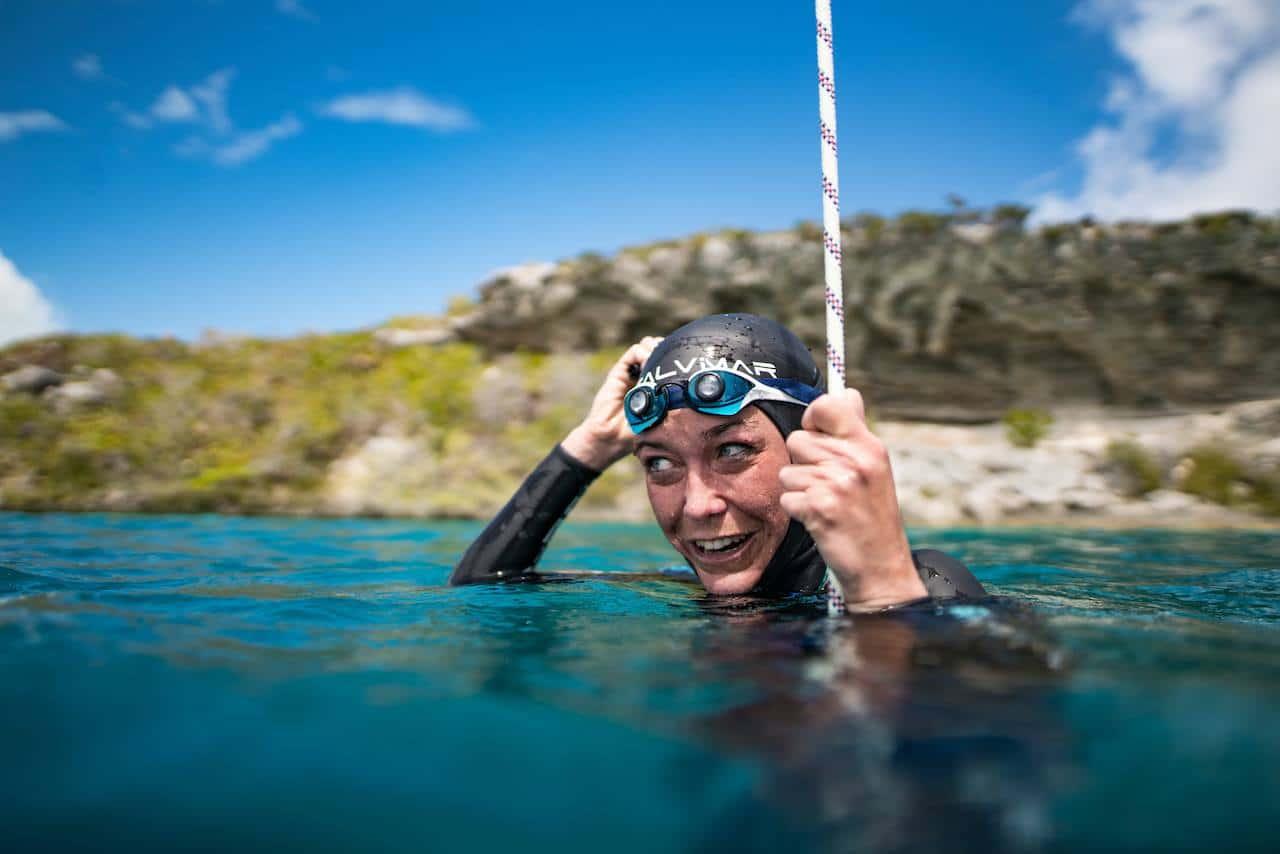 BREAKING: Alessia Zecchini Sets New Women's Freediving